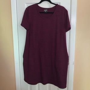 Casual dress with pockets
